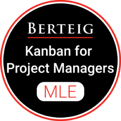 Kanban For Project Managers badge