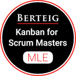 Boost Efficiency and Flow on Your Scrum Team - Kanban for Scrum Masters badge