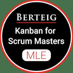 Kanban for Scrum Masters - Improve Your Scrum Mastering Skills badge