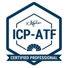 ICAgile Certified Professional in Agile Team Facilitation® (ICP-ATF) badge