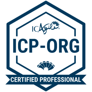 ICAgile Certified Professional in Adaptive Org Design® (ICP-ORG) badge