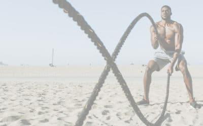 Building on Strengths - man strength training